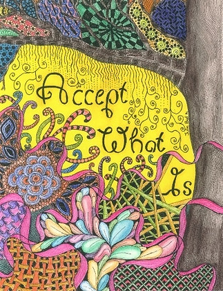 Accept What Is - Unframed Print