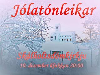 Jólatónleikar Skálholtsdómkirkju færðir til 18. desember vegna færðar og veðurspár