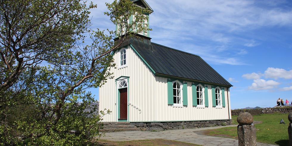 Pílagrímaganga frá Þingvöllum á Skálholtshátíð