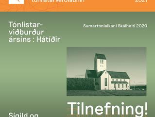 """Sumartónleikar í Skálholti 1. - 11. júlí - """"Kynslóðir"""""""