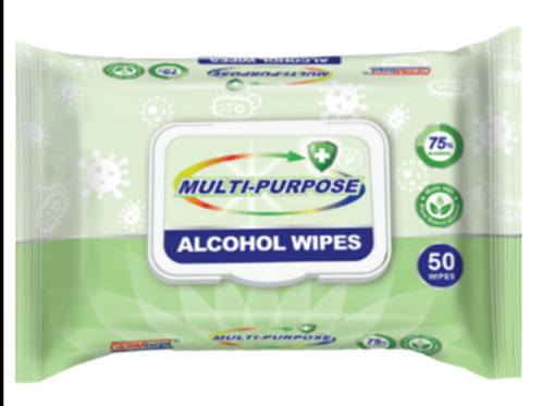 Alcohol Wipes 50 count (24 Packs)