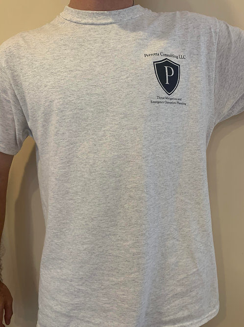 T-shirt with Perrotta Consulting Logo