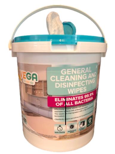 800 Count Disinfecting Wipe Buckets (2 buckets per case)