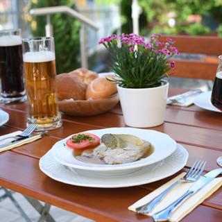 Bier und Brotzeit