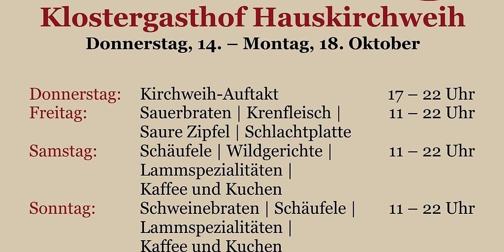 Klostergasthof Hauskirchweih