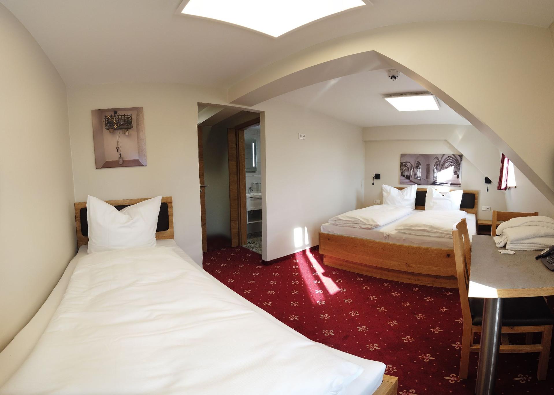 Hotelzimmer Zimmer Klostergasthof Heiden