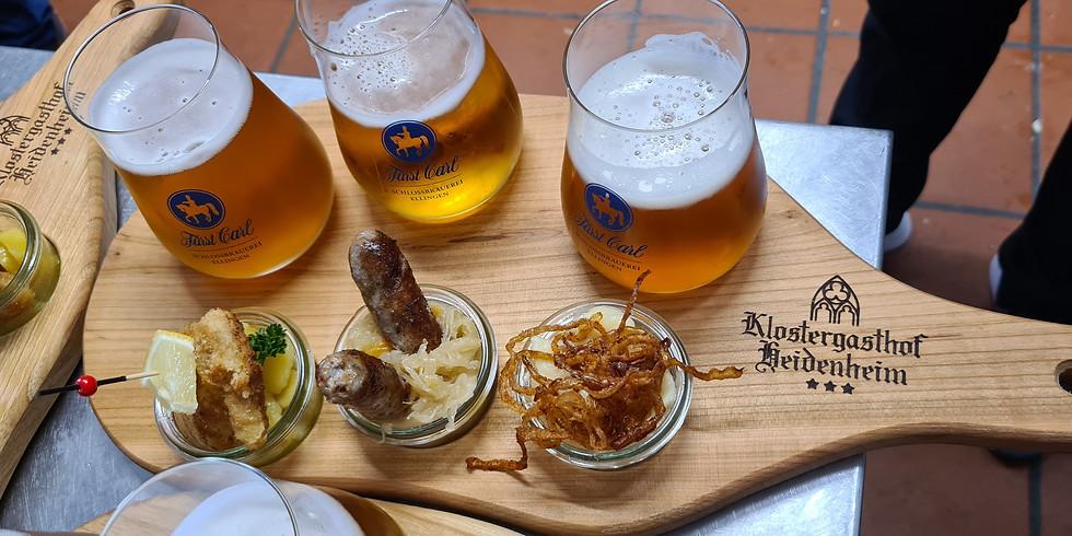 Biergarten & Restaurant geöffnet
