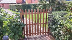 Solid Oak Gate