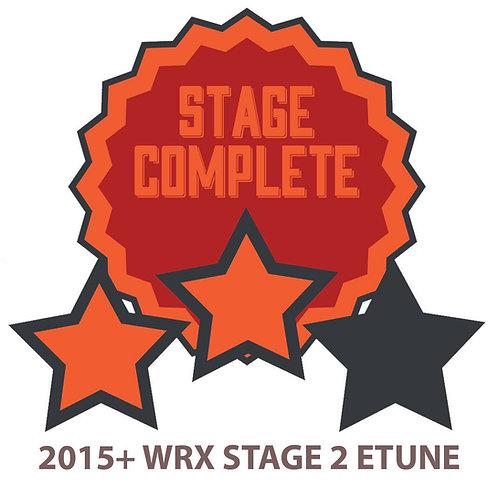Stage 2 Custom ETUNE 2008 And Newer Subaru WRX STI.  EJ25/FA20