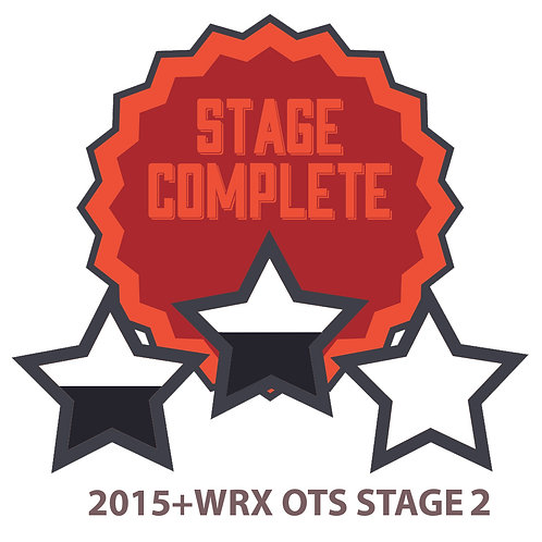 Stage 2 2015+ WRX OTS map. One free revision included.