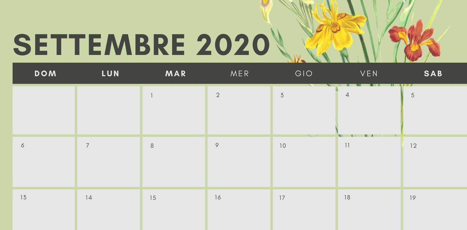 Settembre 2020