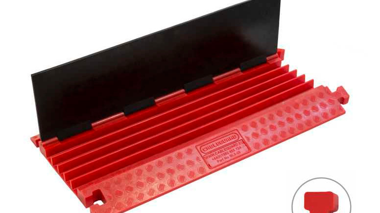 Black Line 5 Channel Cable Ramp
