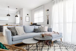 שטיח ברבר מפנק בסלון