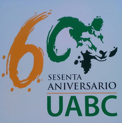 logotipo uabc 60 aniversario