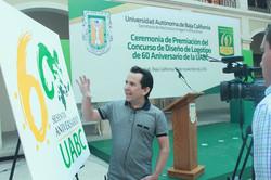 60 uabc logotipo