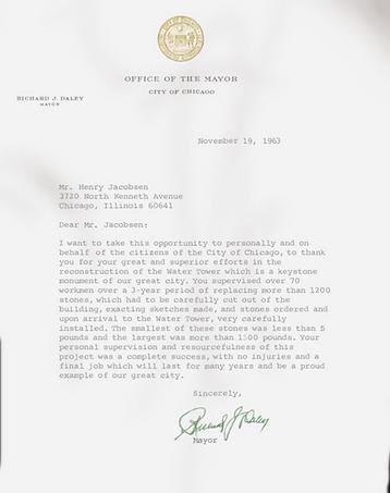 Henry Jacobsen Letter