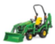 John Deer Compact tractor_loader_backhoe