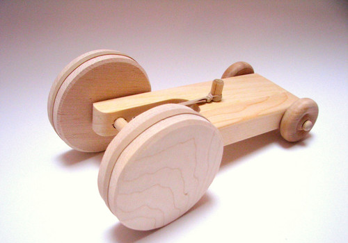 The Montessori Room | Wooden vehicules