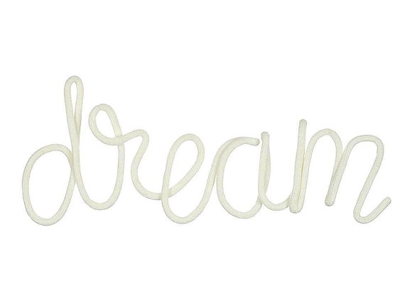 Dream letters wall decoration