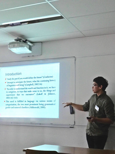 Presentation at ICHoLS XIV, Paris 2018