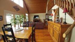 Cabin Heaven Living Room