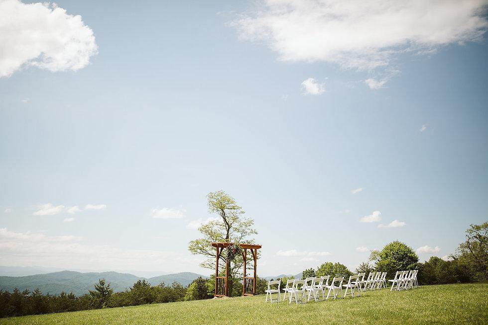 K+S Cabin Heaven Asheville NC Elopement-
