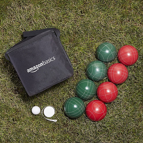 Bocce Ball Set with Soft Carry Case