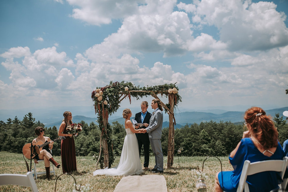 Mountain Elopement Packages in NC