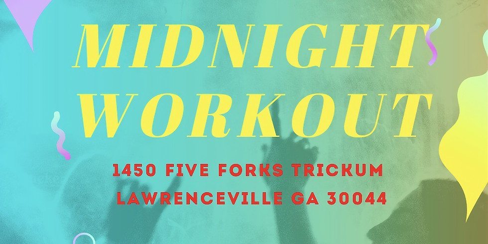 Friday  Midnight Workout