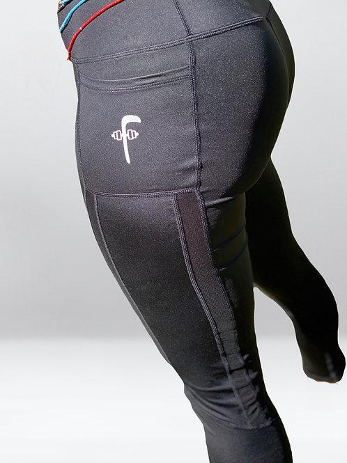Flossin 2pockets Black leggings
