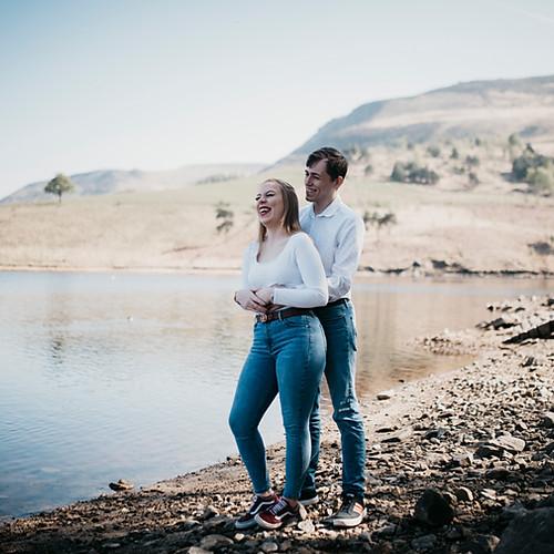 Arran + Becky Pre wedding shoot