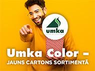 Jauns  makulatūras kartons – Umka Color!