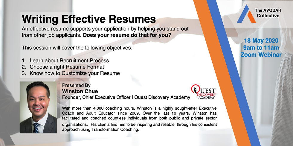 Write Effective Resumes