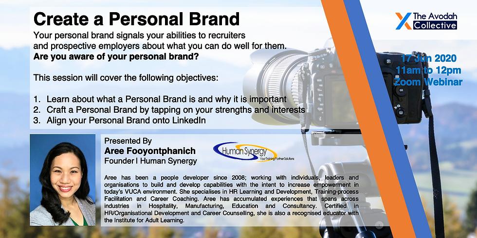 Create a Personal Brand (Run 2)