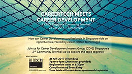 CDIG 2nd Community Townhall - CareerTech Meets Career Development