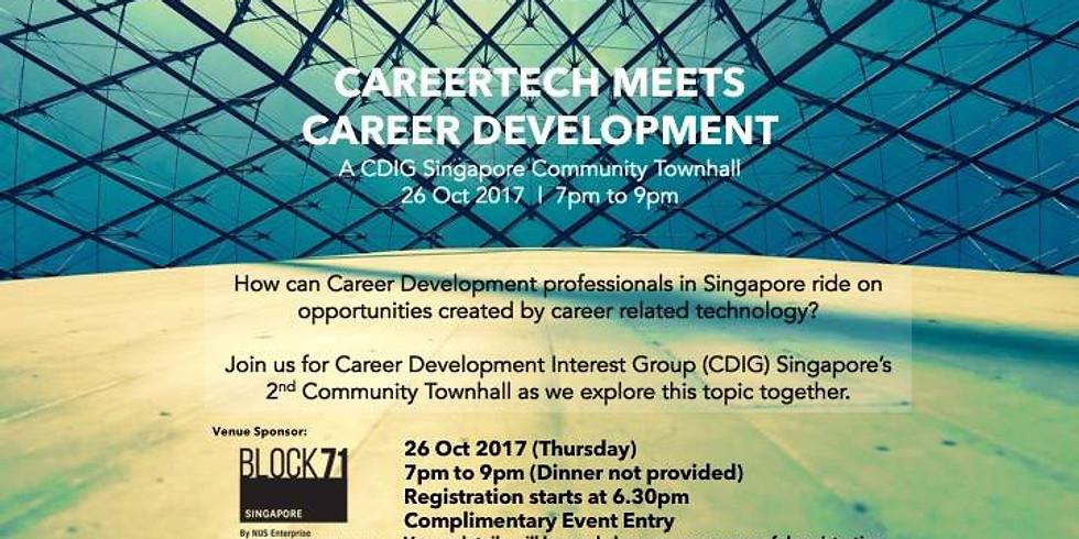 CDIG 2nd Community Townhall - CareerTech Meets Career Development