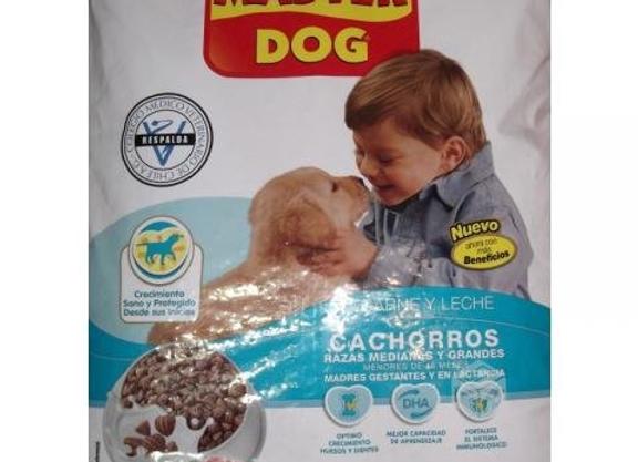 ALIMENTO PERRO CACHORRO MASTER DOG 18KG