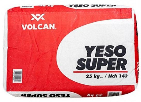 YESO BOLSA 25KG VOLCAN / ROMERAL