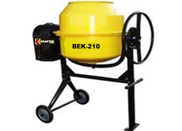 BETONERA 210 LTS. 220V. VOLT.LATERAL BEK210 EMARESA.-
