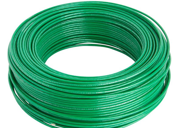 CABLE THHN 14AWG (2,08mm) VERDE 100MTS