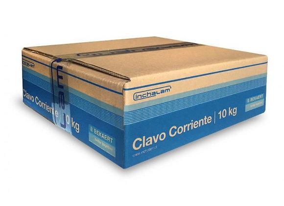 """CLAVO GALVANIZADO 1. 1/2"""" 10KL"""