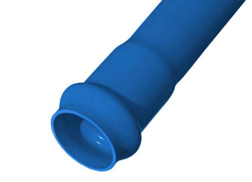 TIRA PVC HIDRAULICA 75 MM X 6 MT C/10 GOMA.- (GRUESA)