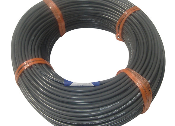 CABLE SVT 2x1,00 100MTS NEGRO