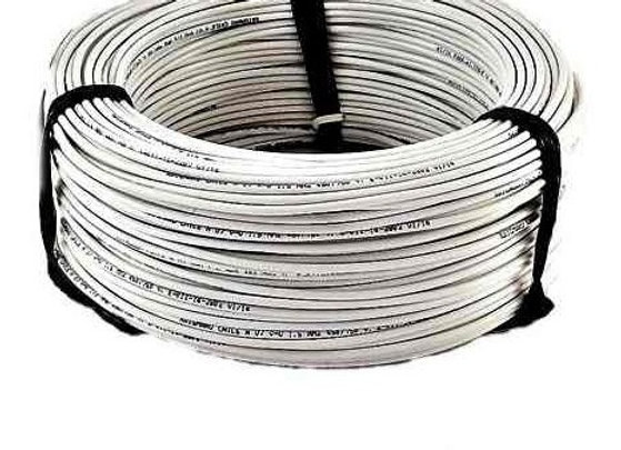 CABLE BLANCO 1,5 EVA 100MTS INCOMBUSTIBLE