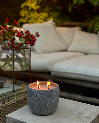 Citronella candle for out door