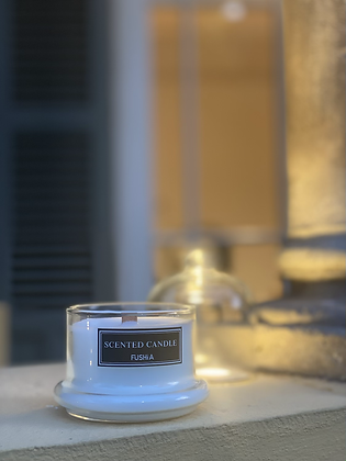 Wood Wick Green Tea Scented Candle