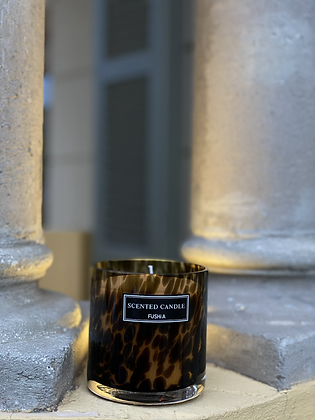 Beautiful Spotted scented Candle