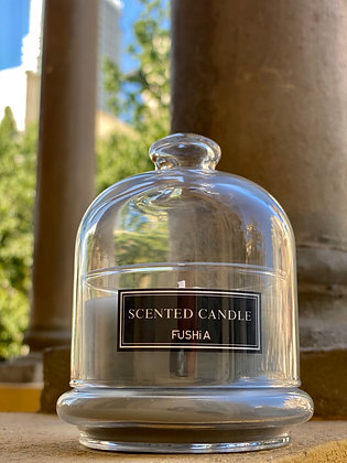 Bell Cover & Saint Scented Candle