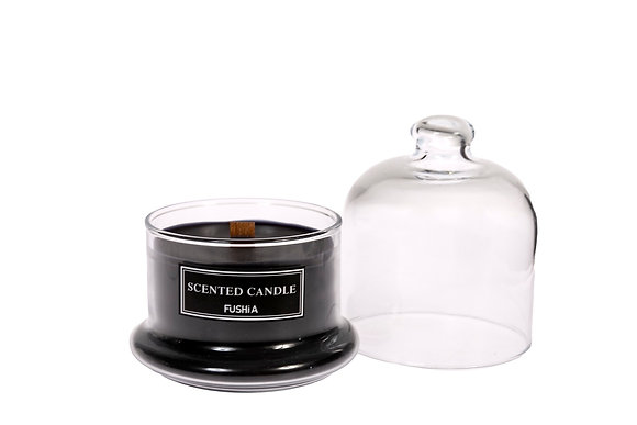 Bell Cover & Black Scented Candle
