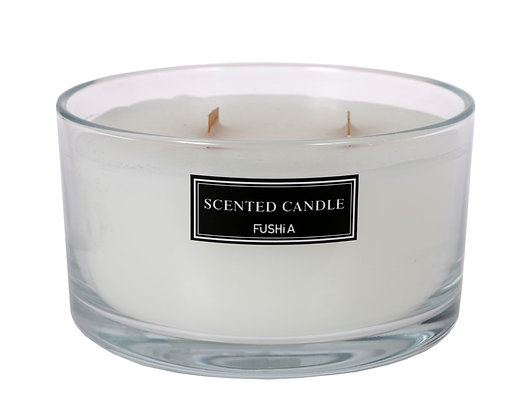 XL Green tea Wood Wick Scented Candle